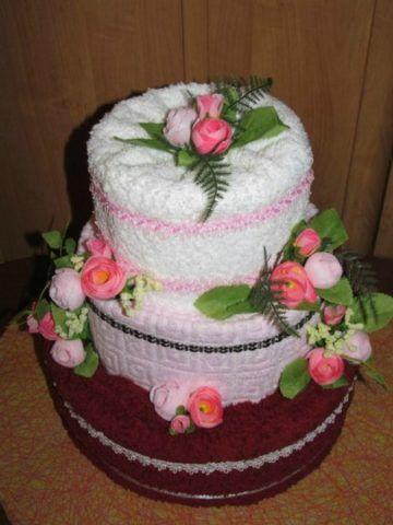 Декорированный торт.