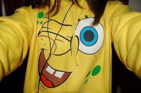 Забавная футболка.