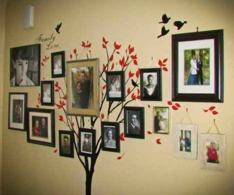 Фотоколлаж – семейное дерево