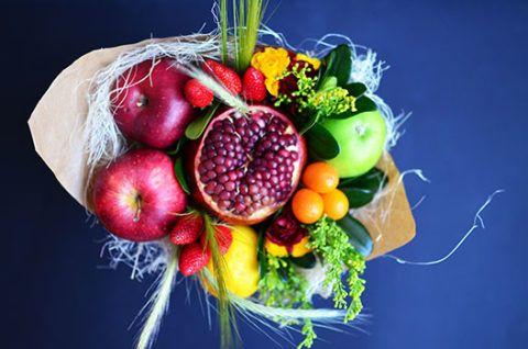 Фруктово-овощной букет