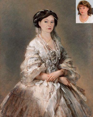 Исторический портрет на заказ