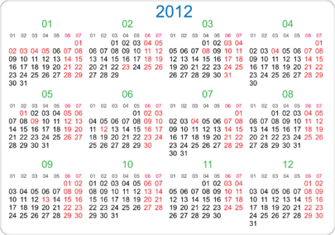 Календарь прикладного программиста
