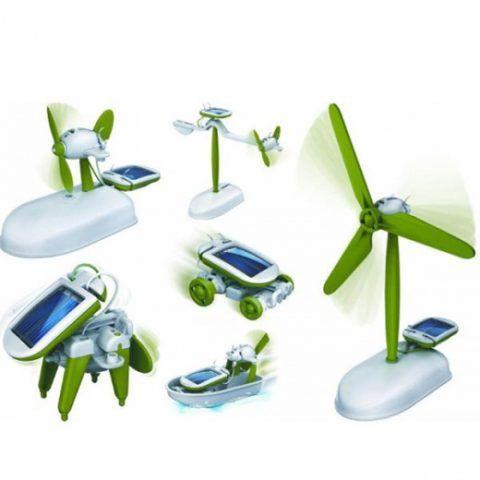 На солнечных батарейках