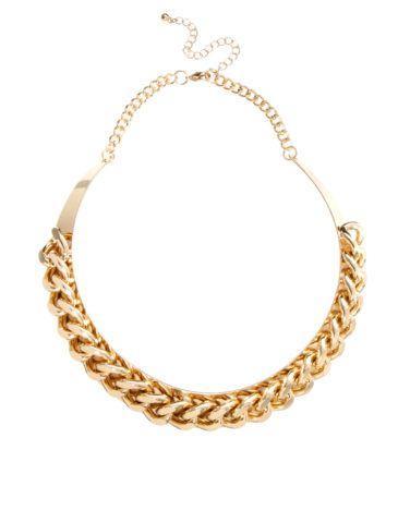 Красивая цепочка из желтого золота.