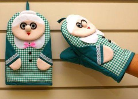 Кухонные рукавички «Бабуля».