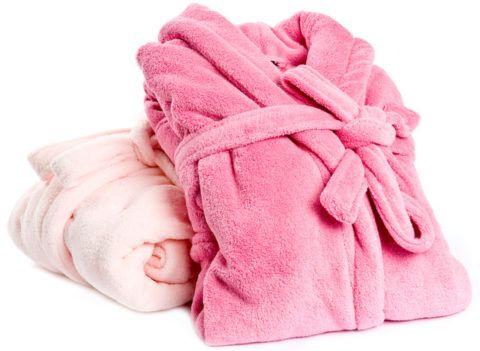 Махровый халат для любимой «бабули».