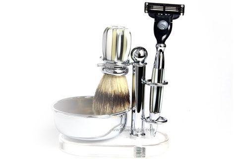 Набор для бритья, подарок для деда.