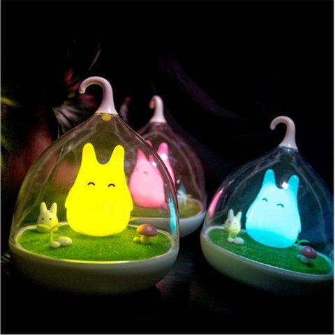 Необычные светильники – ночники в комнату девушке.