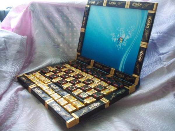 Как из конфет сделать ноутбук