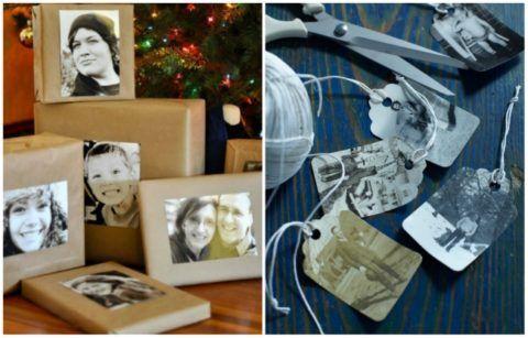 Оформление подарка фото