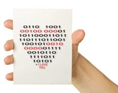 Открытка с зашифрованным посланием