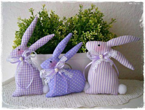 Пахнущие мягкие игрушки «Лиловые зайцы».