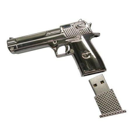 Пистолет с флешнакопителем.