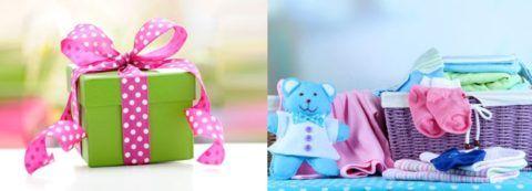 Подарки для мамы и малютки.