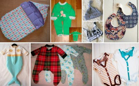 Подарки малышу, сделанные своими руками.