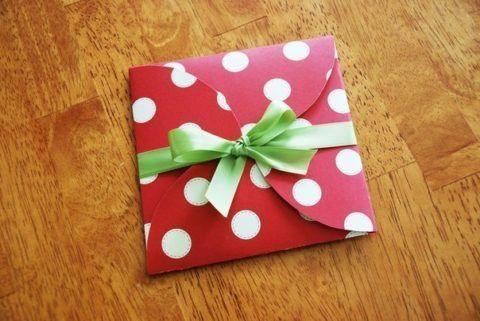 Подарочный конвертик.