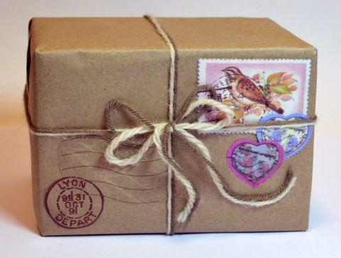 Подарок-посылка
