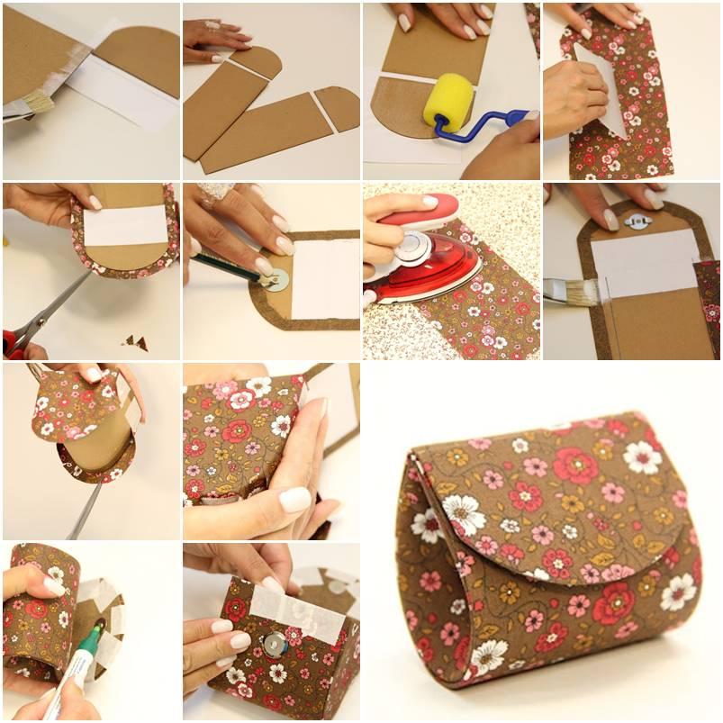 Как можно сделать маленькие сумочки