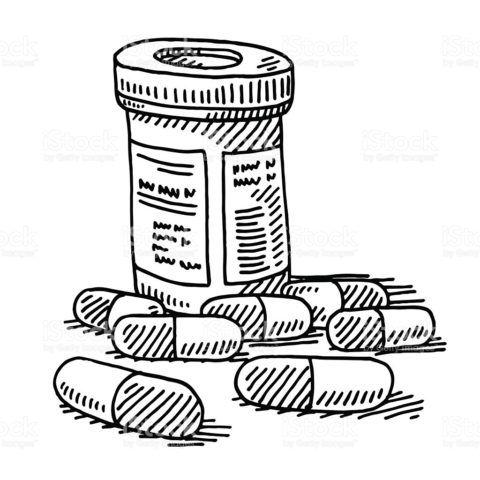 Пузырек для таблеток