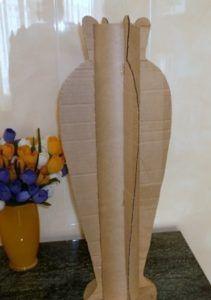 Поделки из картонных труб от линолеума