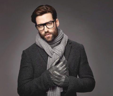 Шарф и перчатки