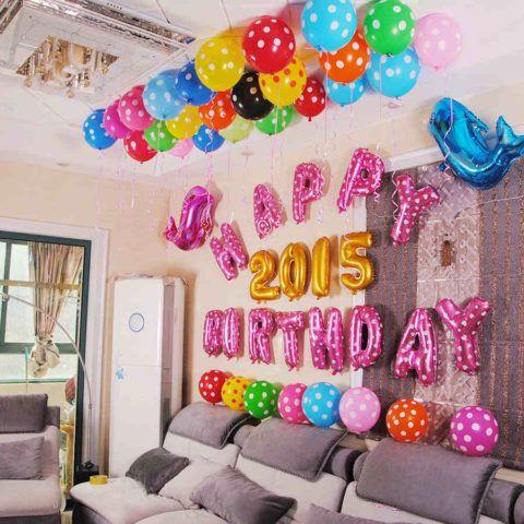 Шары ко дню рождения