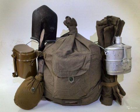 Солдатский комплект в подарок ко дню защитника Родины.