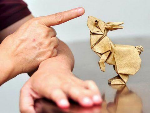 Статуэтки в технике оригами