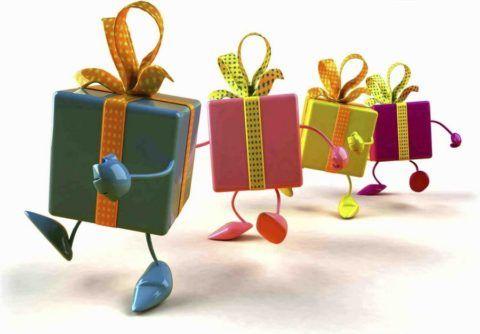 Своеобразный подарок всегда обрадует адресата