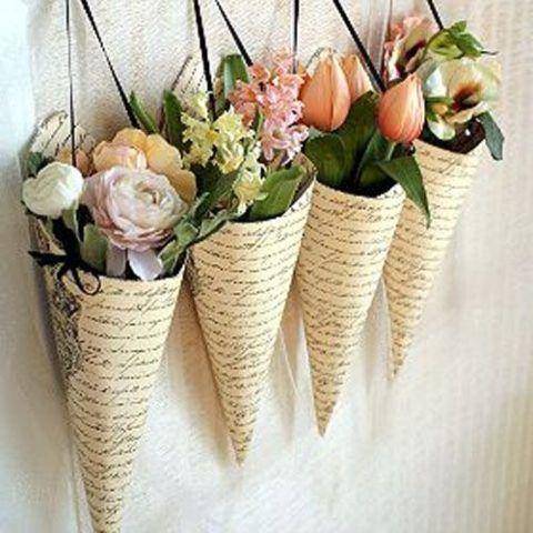 Цветы на стены