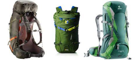 Туристические рюкзаки с карематом.