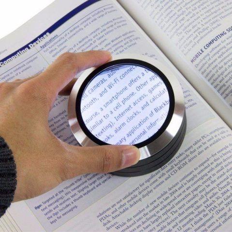 Увеличительное стекло для чтения