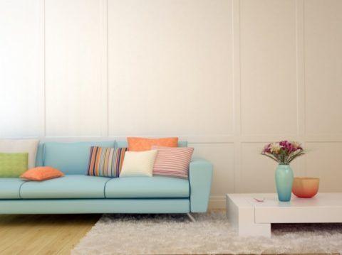 В новую квартиру новую стильную мебель.