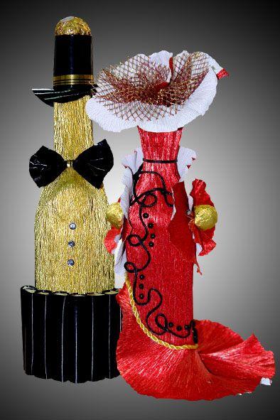 Дизайн шампанского своими руками
