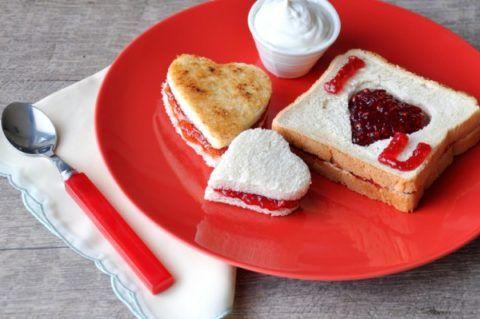 Завтрак для любимой женщины