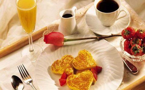 Завтрак «Любимому в день рождения».