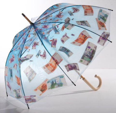 Зонт «Деньги падают с неба»