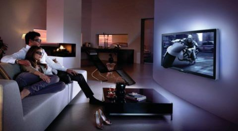 3Д телевизор