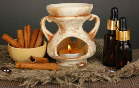 Ароматерапия в подарок наставнику, аромалампа и эфирные масла.