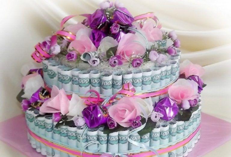 Как сделать на день рождения торт из бумаги 864