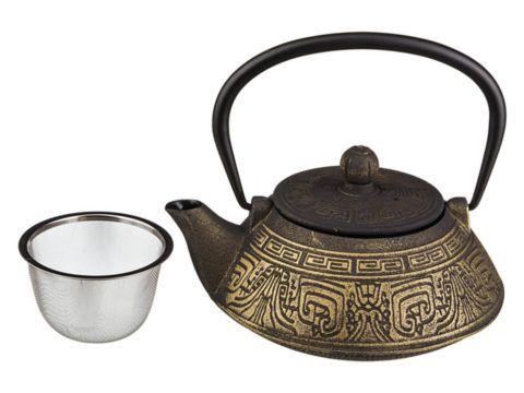 Чугунный чайник для беседки