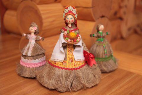 Декоративные куколки