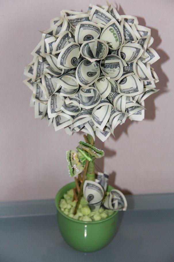 Что сделать своими руками денежное дерево 30