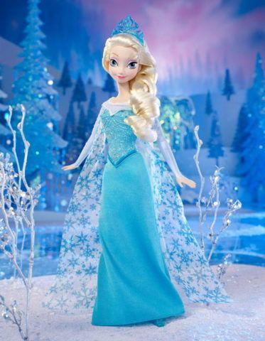 Ещё одна принцесса – Эльза из мультфильма « Холодное сердце».