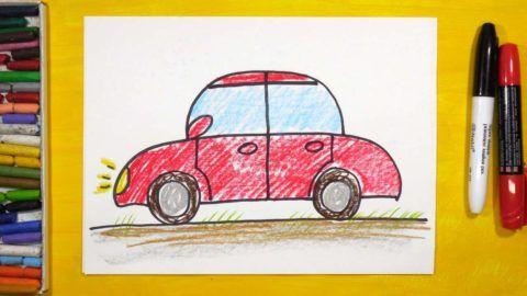 Еще вы можете помочь ребенку нарисовать машинку и приклеить туда по желанию фото.