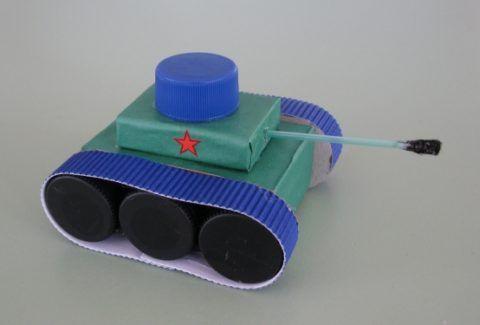 Готовый танк.