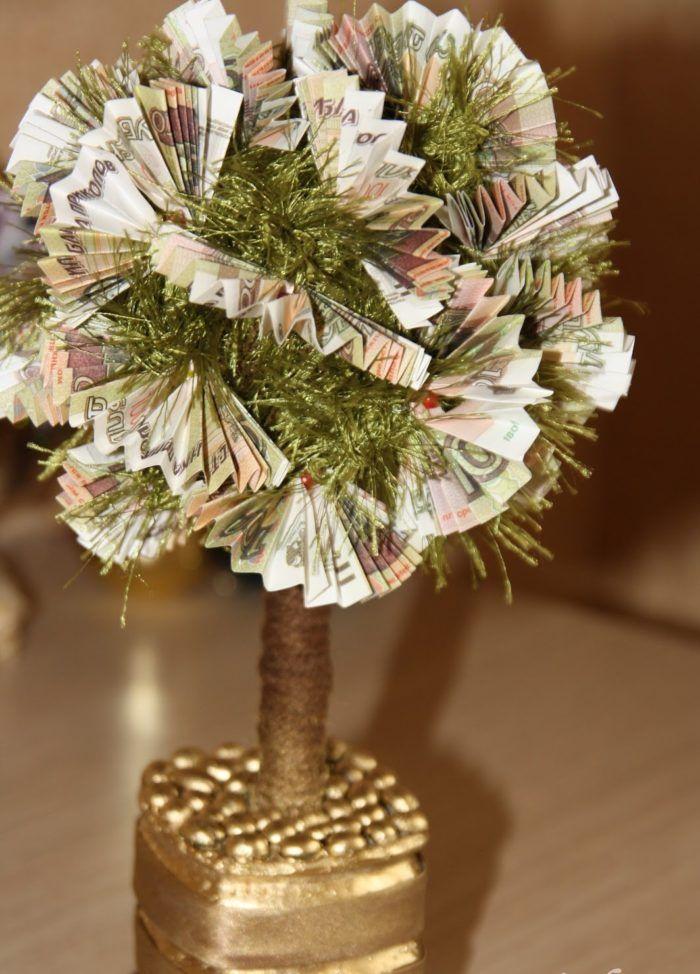 Что сделать своими руками денежное дерево 42