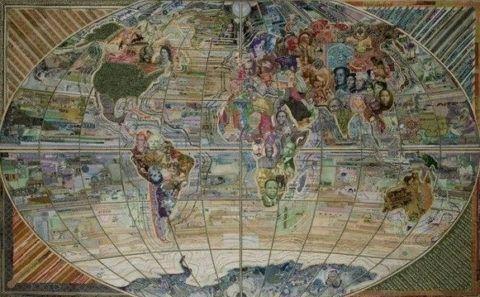 Карта денежная