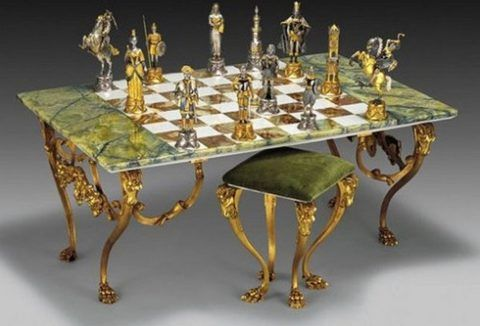 Комплект мебели с шахматами