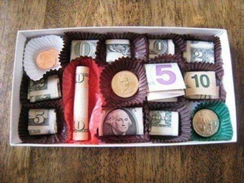Коробочка денег